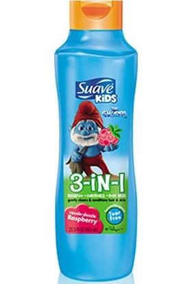 Suave Kids Raspberry 3ü 1 Arada Çocuk Şampuanı 665ML