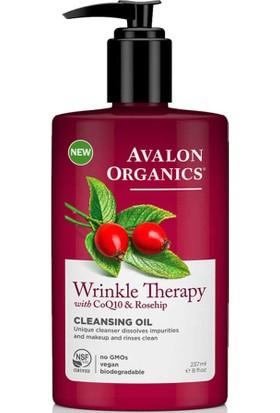 Avalon Organics Wrinkle Therapy Temizleme Yağı 237ML