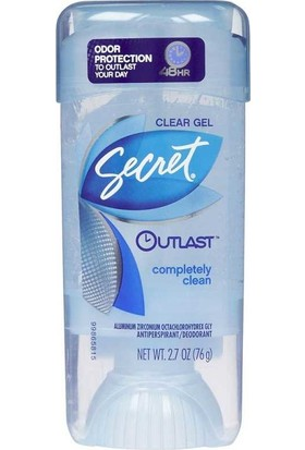 Secret Outlast Completely Clean Antiperspirant Deodorant Jel 76GR