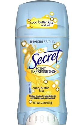 Secret S/E Cocoa Butter Kiss Antiperspirant Deodorant 73GR
