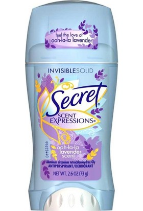 Secret S/E Ooh La La Lavender Antiperspirant Deodorant 73GR