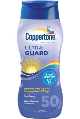 Coppertone Ultra Guard SPF50 Güneş Losyonu 237ML