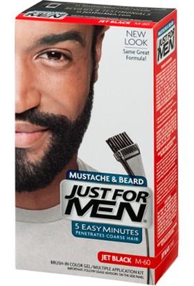 Just For Men Sakal ve Bıyık Boyası M60-Koyu Siyah