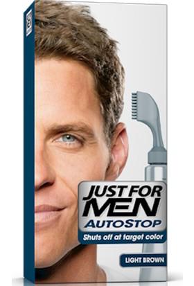 Just For Men Autostop Saç Boyası A25-Açık Kahve