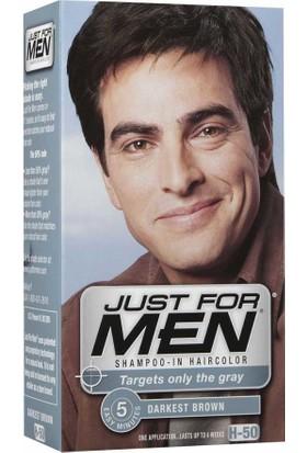 Just For Men Saç Boyası H50-Karanlık Kahve