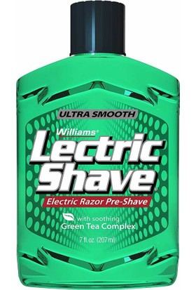 Lectric Shave Electric Razor Pre Shave 207Ml