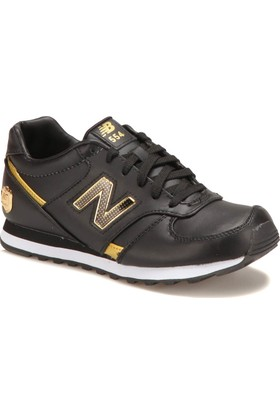New Balance W554Bgw Siyah Kadın Süet Deri Sneaker