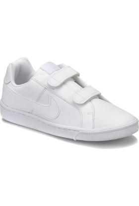 Nike Court Royale (Psv) Beyaz Erkek Çocuk Tenis Ayakkabısı