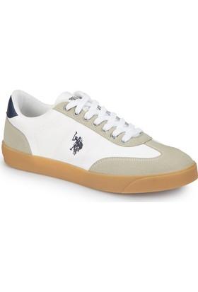 U.S. Polo Assn. Hugo Summer Beyaz Erkek Sneaker