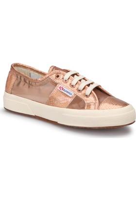 Superga 2750 - Anımalmetnetw Şeffaf Pembe Kadın Sneaker