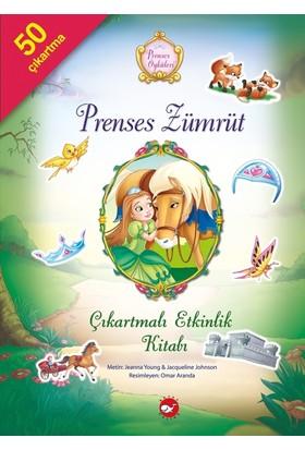 Prenses Öyküleri Çıkartmalı Etkinlik Kitabı Prenses Zümrüt - Jeanna Young