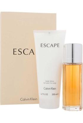Calvin Klein Escape Bayan Parfüm Seti - EDP 100ML