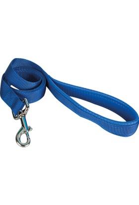 Sanlian Köpek Gezdirme Şerit 1,5 - 120 Cm Mavi