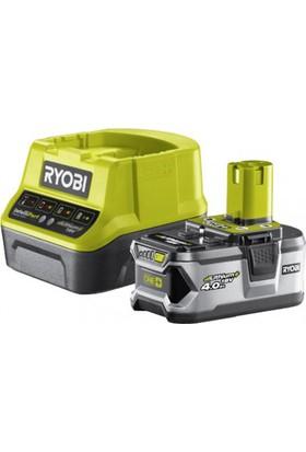 Ryobi RC18140140 18Volt / 4,0 Ah Li-Ion Yedek Akü ve Akü Şarj Cihazı