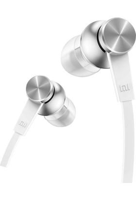 Xiaomi Piston Basic Edition Mikrofonlu Kulakiçi Kulaklık Beyaz (Yassı Kablolu)