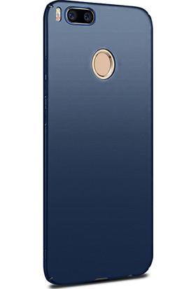 Case 4U Xiaomi Mi A1 - 5X Kılıf Slim Fit Rubber Arka Kapak - Lacivert