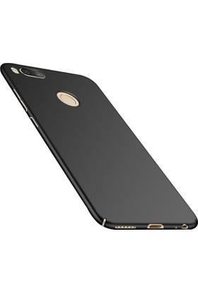 Case 4U Xiaomi Mi A1 - 5X Kılıf Slim Fit Rubber Arka Kapak - Siyah