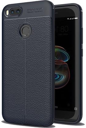 Case 4U Xiaomi Mi A1 - 5X Darbeye Dayanıklı Niss Kılıf - Lacivert