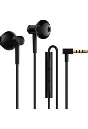 Xiaomi Yarım Kulak İçi Çift Sürücülü Stereo Mikrofonlu Kulaklık - Siyah