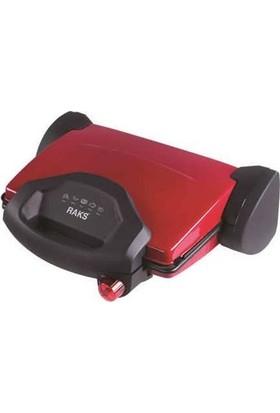 Raks RK 4400 Kırmızı Tost Makinesi