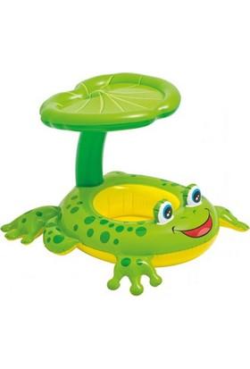 İntex Gölgelikli Kurbağa Bebe Flotoru