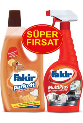 Fakir Parkett Ahşap 1000 ml & Fakir Multiplus 750 ml Set