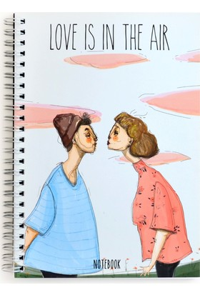 Pulp Love Is In The Air Noktalı Defter (A5)