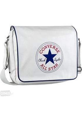 Converse Flap Reporter Retro Omuz Askılı Beyaz Çanta