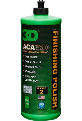 3D 520 ACA™ Finishing Polish - Hare Giderici Cila 946 ml. 520OZ32