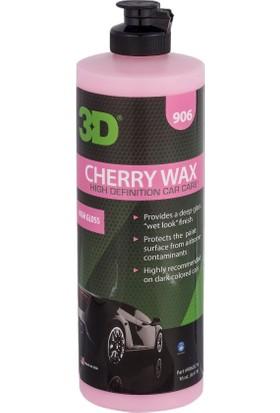 3D Cherry Wax- Islak Görünüm Veren Koruyucu Cila 473 ml. 906OZ16