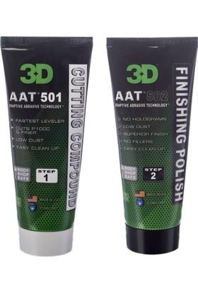 3D Profesyonel Pasta ve Cila Seti 2 x 236 ml. AAT 501 ve AAT 502