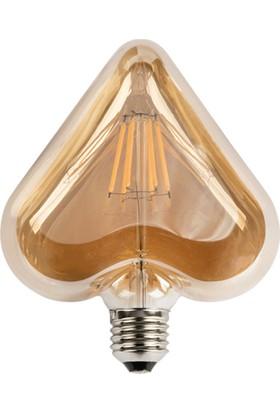 Cata Ct 4307 Dekoratif Edison Flamanlı Rustik Led Ampul 6W