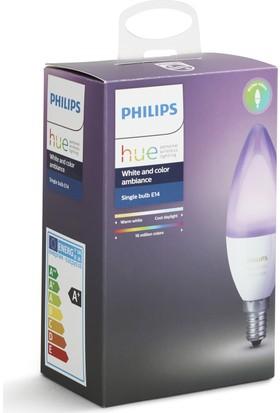 Philips Hue Renkli Akıllı Ampul E14