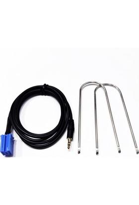 Auto Fiorino / Nemo / Bipper Uyumlu Aux Kablo