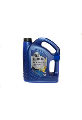 Texol Multisyn DPF 5W/30 (Üretim Yılı : 2018) 4 Lt.