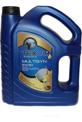 Texol Multisyn 5W/30 (Üretim Yılı : 2018) 4 Lt.