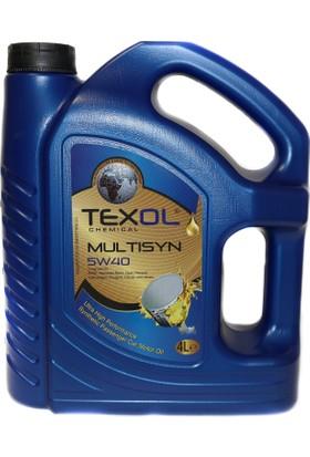 Texol Multisyn 5W/40 (Üretim Yılı : 2018) 4 Lt.
