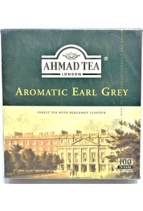 Ahmad Tea Bergamot Aroma Kokulu Bardak Poşet Çay 100 Adet