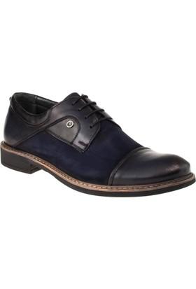 Alisolmaz 1256 Bağlı Klasik Lacivert Erkek Ayakkabı