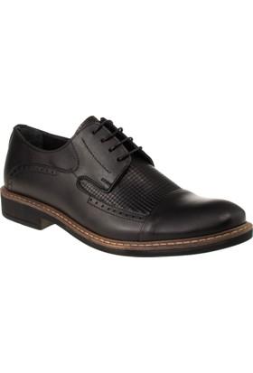 Alisolmaz 1266 Bağlı Klasik Siyah Erkek Ayakkabı