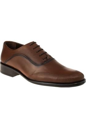 Alisolmaz 1606 Bağlı Klasik Taba Erkek Ayakkabı