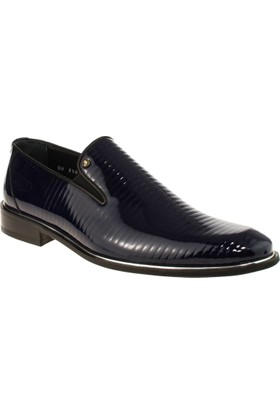 Alisolmaz 2505 Bağsiz Klasik Lacivert Erkek Ayakkabı