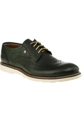 Alisolmaz 301 Bağlı Günlük Yeşil Erkek Ayakkabı
