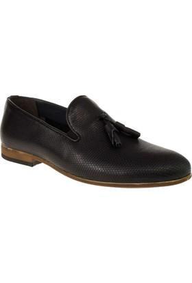 Alisolmaz 6540-5 8y Bağsiz Klasik Siyah Erkek Ayakkabı