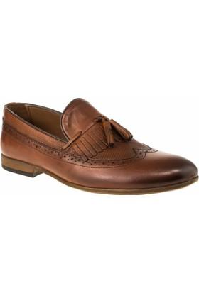 Alisolmaz 6540-5 Bağsiz Klasik Taba Erkek Ayakkabı