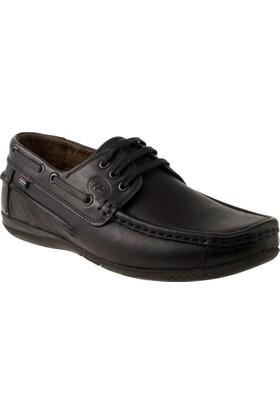 Alisolmaz 906 Bağlı Günlük Siyah Erkek Ayakkabı