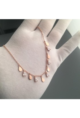 Paljewelry Damla Salkım Kolye