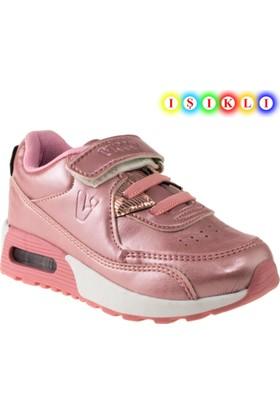 Vicco 313.18y.749 İşikli Çocuk Pembe Çocuk Spor Ayakkabı