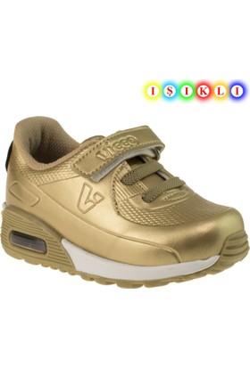 Vicco 313.18y.749 İşikli Çocuk Altın Çocuk Spor Ayakkabı