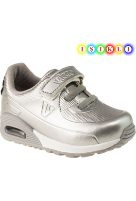 Vicco 313.18y.749 İşikli Çocuk Gümüş Çocuk Spor Ayakkabı